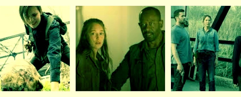 """Ranking the top 5 moments from """"Fear the Walking Dead"""" season 4 episode 9:  """"Yesterday isYesterday"""""""