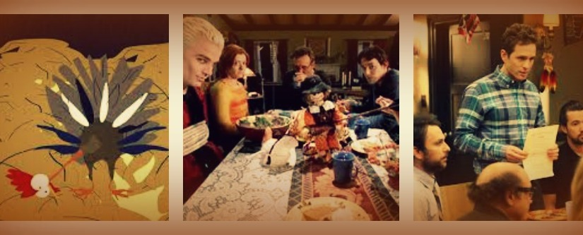 """Ranking my top 5 Thanksgiving TV Episodes:  """"It's a Ritual Sacrifice withPie"""""""