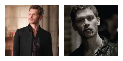 Klaus vampire collage
