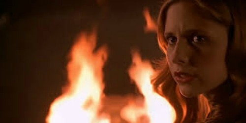 Buffy Walk Through the Fire