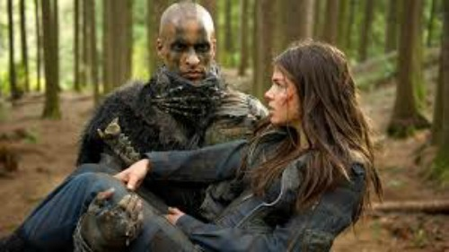 Octavia and Lincoln The 100 CW